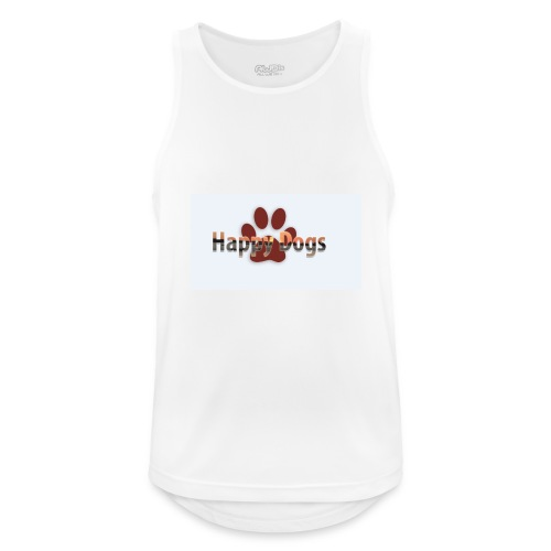 Happy dogs - Männer Tank Top atmungsaktiv