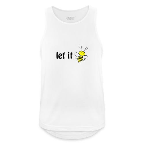 let it bee - Männer Tank Top atmungsaktiv