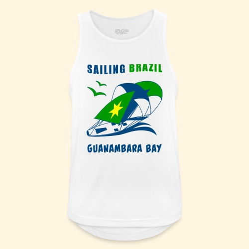 Sailing Brazil - Men's Breathable Tank Top