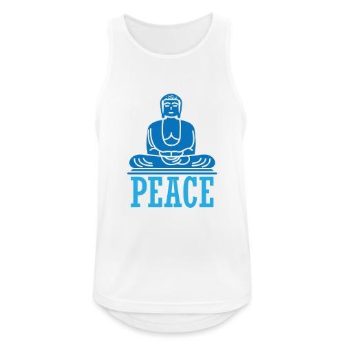 Buddha Meditating. - Men's Breathable Tank Top