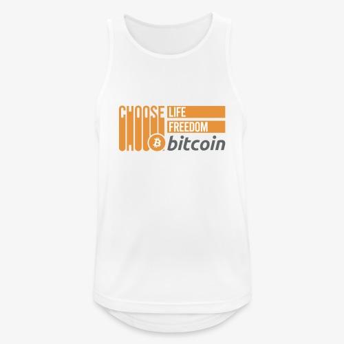 Bitcoin - Débardeur respirant Homme