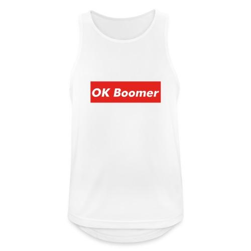 OK Boomer Meme - Men's Breathable Tank Top
