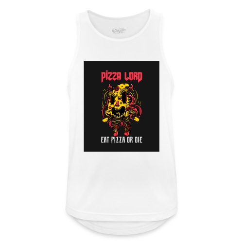 Pizza lord eat pizza or die - Men's Breathable Tank Top