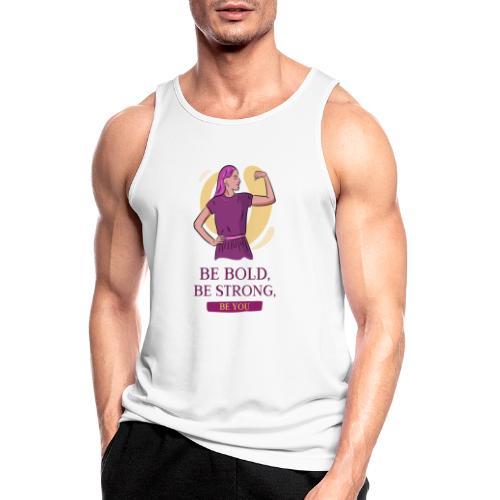 t shirt design generator featuring an empowered - Camiseta sin mangas hombre transpirable