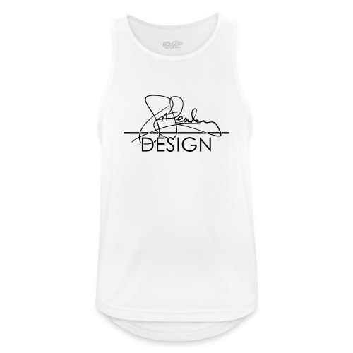 sasealey design logo png - Men's Breathable Tank Top