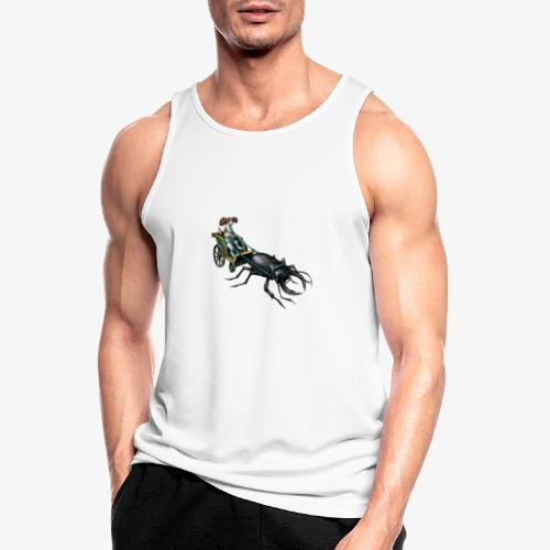 King Charles Spaniel with Stag beetle steed - Men's Breathable Tank Top