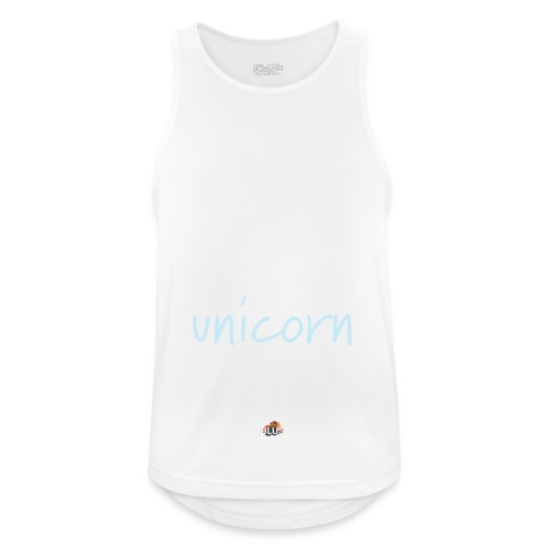 Crazy Unicorn - Dark - Men's Breathable Tank Top
