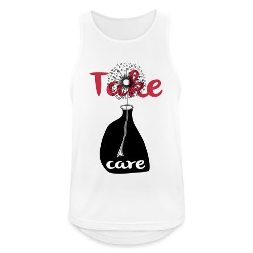take_care - Canotta da uomo traspirante