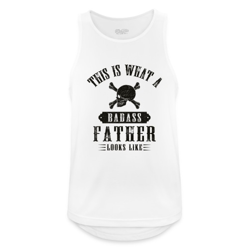 This Is What A Badass Father Looks Like - Men's Breathable Tank Top