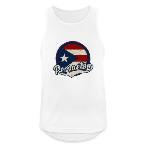 Reggaeton Music - Puerto Rico - Männer Tank Top atmungsaktiv