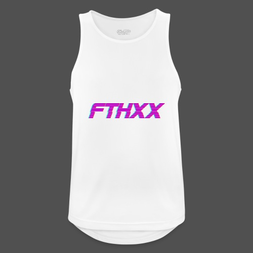 FTHXX Synthwave - Men's Breathable Tank Top