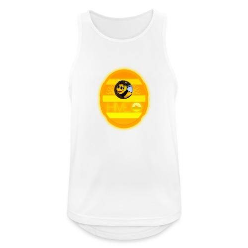 Herre T-Shirt - Med logo - Herre tanktop åndbar
