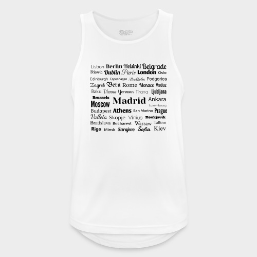 European capitals - Men's Breathable Tank Top