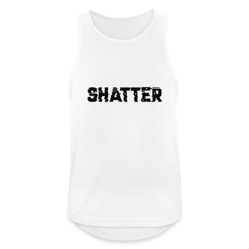 shatter - Männer Tank Top atmungsaktiv