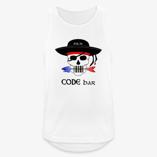 Code Bar couleur - Débardeur respirant Homme