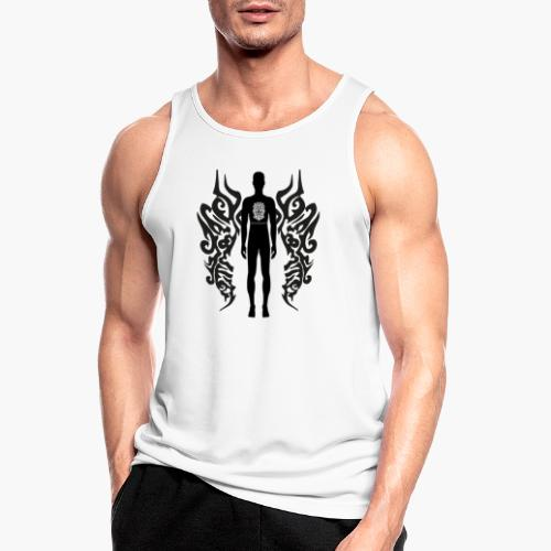 Houseology Original - Angel of Music (INVERSE) - Men's Breathable Tank Top