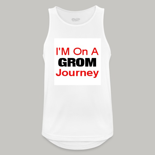 i am on a grom journey - Men's Breathable Tank Top