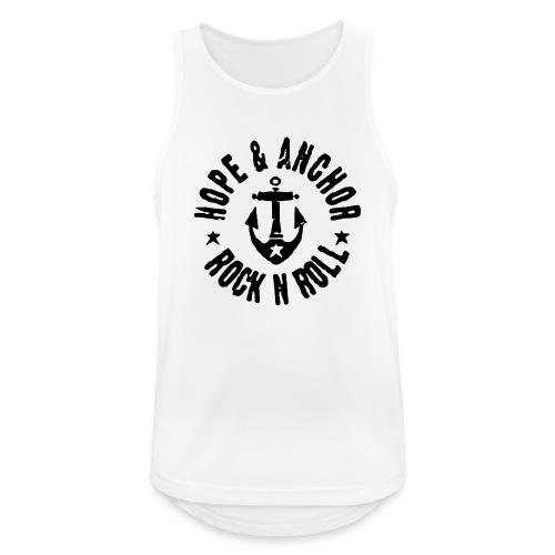 Hope & Anchor - Rock´n´Roll - Männer Tank Top atmungsaktiv