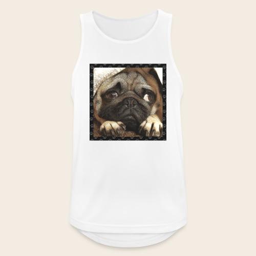 Mops Hund 1 - Männer Tank Top atmungsaktiv