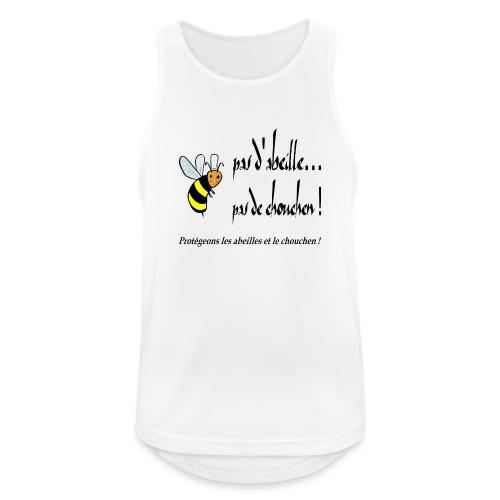Pas d'abeille, pas de chouchen - Débardeur respirant Homme