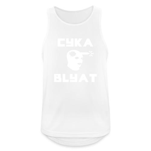 CYKA_BLYAT-png - Men's Breathable Tank Top