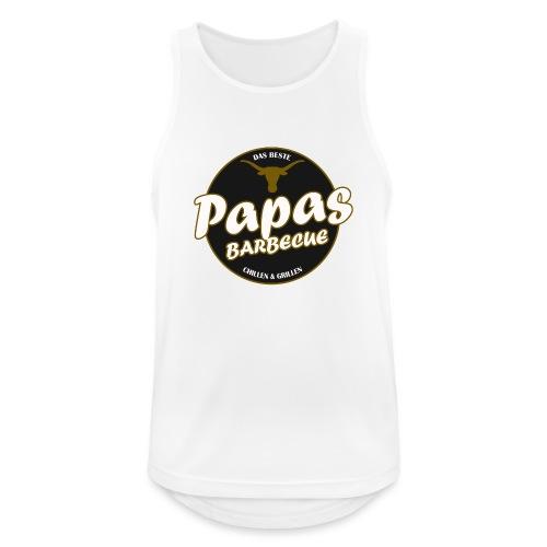 Papas Barbecue ist das Beste (Premium Shirt) - Männer Tank Top atmungsaktiv