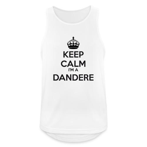 Dandere keep calm - Men's Breathable Tank Top