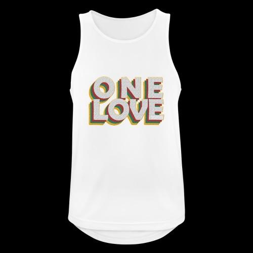 ONE LOVE - Männer Tank Top atmungsaktiv