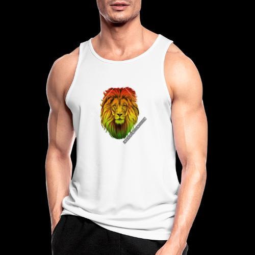 LION HEAD - UNDERGROUNDSOUNDSYSTEM - Männer Tank Top atmungsaktiv