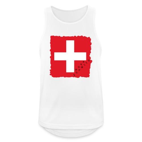 Schweiz 21.1 - Männer Tank Top atmungsaktiv