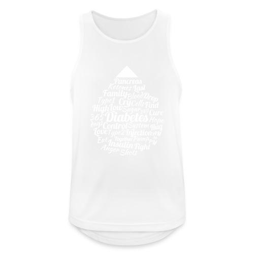 CURE DIABETES - Men's Breathable Tank Top