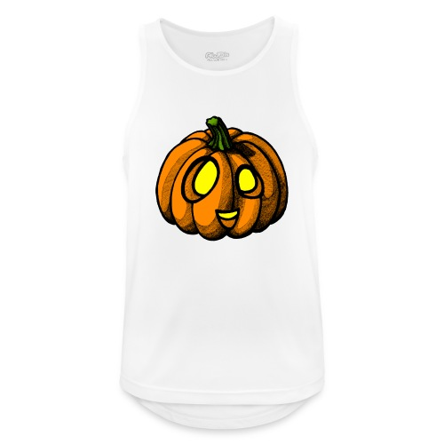 Pumpkin Halloween scribblesirii - Männer Tank Top atmungsaktiv