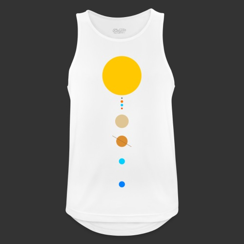 Solar System - Men's Breathable Tank Top
