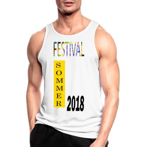 Festival Saison 2018 #1 - Männer Tank Top atmungsaktiv