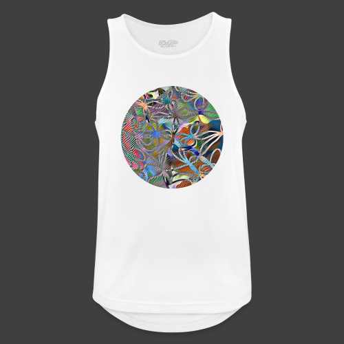 The joy of living - Men's Breathable Tank Top