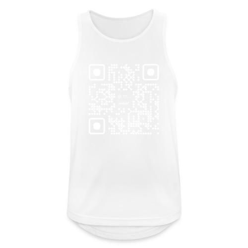 QR - Maidsafe.net White - Men's Breathable Tank Top