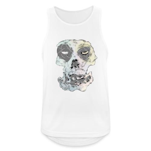 Weird Out Skull - Andningsaktiv tanktopp herr