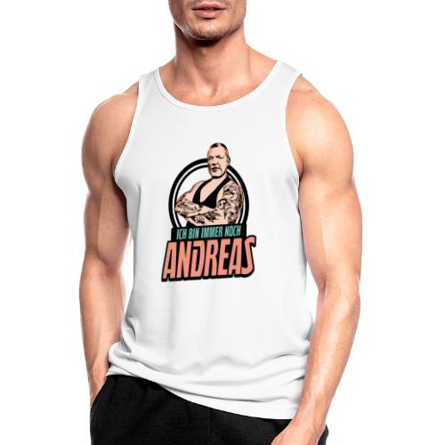 Immer-Noch-Andreas-Logo BUNT - Camiseta sin mangas hombre transpirable