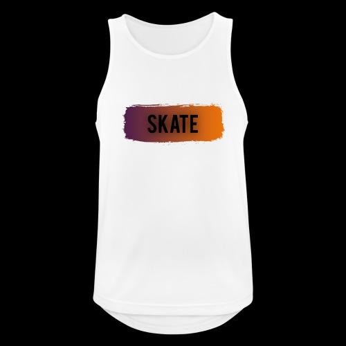 skate brush - Mannen tanktop ademend actief