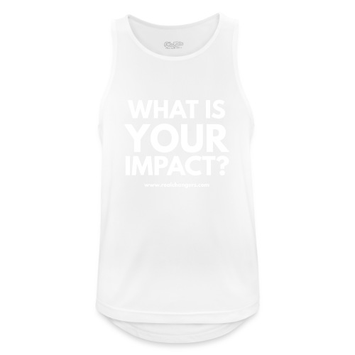 whatisyourimpact - Men's Breathable Tank Top