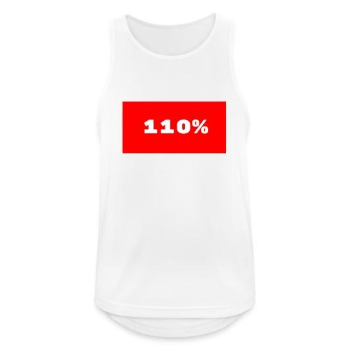 110% Rulez - Canotta da uomo traspirante