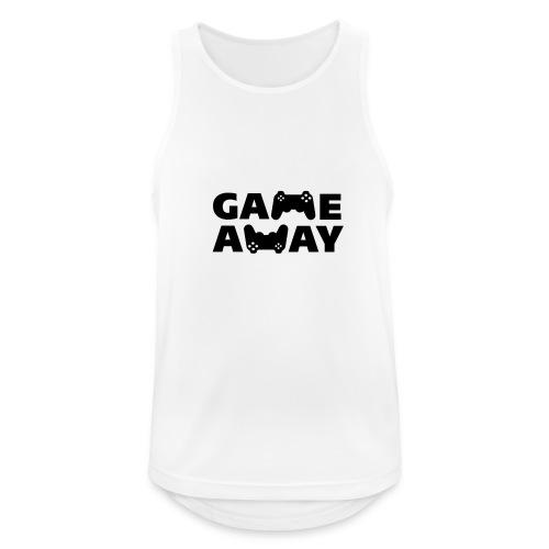 game away - Mannen tanktop ademend