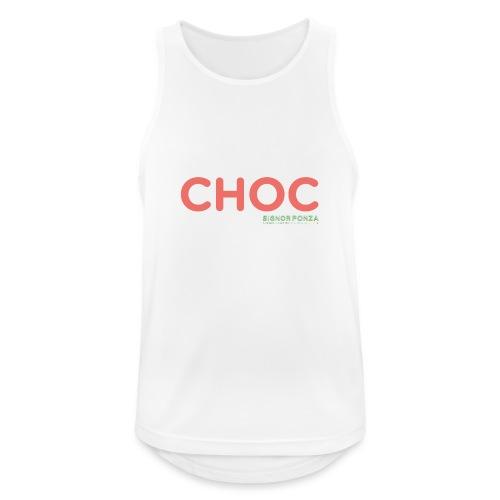 CHOC - Canotta da uomo traspirante