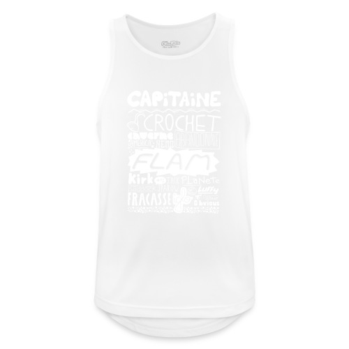 capitaine-blanc Tee shirts - Débardeur respirant Homme
