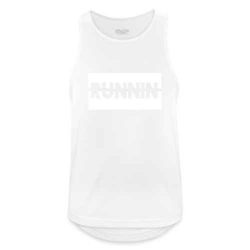 Runnin '| Exclusive - Men's Breathable Tank Top