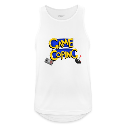 Game Coping Logo - Men's Breathable Tank Top