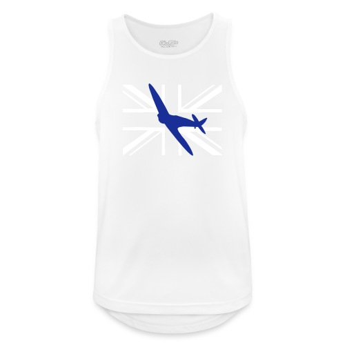 ukflagsmlWhite - Men's Breathable Tank Top