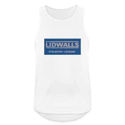 Lidwalls Stålbåtar - Andningsaktiv tanktopp herr