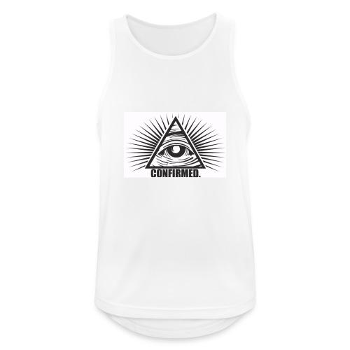 illuminati - Männer Tank Top atmungsaktiv