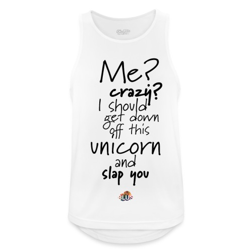 Crazy Unicorn Style (Dark) - Men's Breathable Tank Top